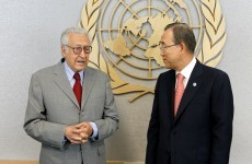 UN peace envoy says Syria death toll is 'staggering'