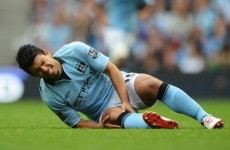 National service: Aguero risks Mancini anger over fitness
