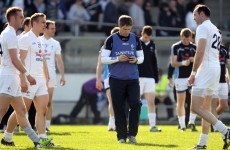 White future: McGeeney to stay on as Kildare boss