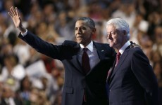 US 2012: Clinton backs Barack Obama