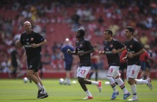 Tightened up: Wenger praises Bould approach