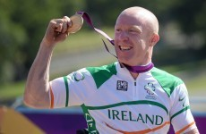 Make mine a double! Mark Rohan wins his second cycling gold