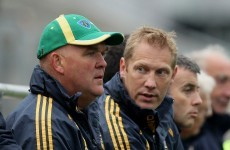 And the nominees for the Meath senior manager are...
