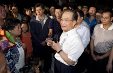 80 dead in China as premier visits earthquake zone