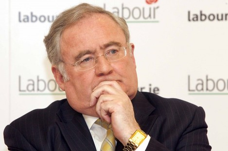 File photo of Pat Rabbitte, Minister for Communications