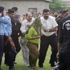 Pakistani girl who was accused of blasphemy released from jail