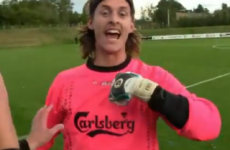 Meet Jakob Kohler, the Danish goalkeeper who scored a stoppage-time equaliser -- with an overhead kick