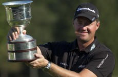 Hanson puts family concerns to one side, wins KLM Open