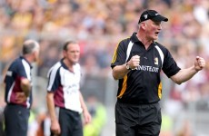 'We don't have any excuses for not winning the game. We weren't robbed by a long shot' - Brian Cody