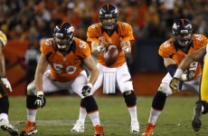 Back with a bang: Manning drives Broncos win as NFL returns