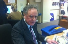 He's back: Vincent Browne returns to our screens tonight