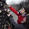 'Love locks' removed from Rome's Ponte Milvio bridge