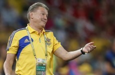 Blokhin won't let players watch England's Moldova win
