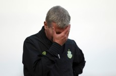 Stephen Kenny sacked by Shamrock Rovers