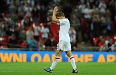 Gerrard disappointed with harsh red card