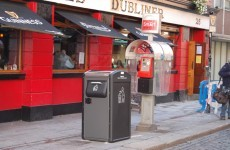 Temple Bar rubbish bins will 'talk' to your smartphone