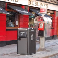 Temple Bar rubbish bins will 'talk' to your smartphone