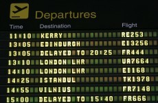 Increase in Irish air traffic last month