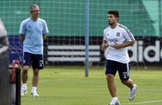 Sergio Aguero could be fit for City's Stoke clash