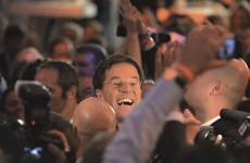 Dutch Prime Minister claims victory for his Liberal party in close election