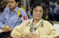 Cambodia genocide defendant ruled unfit for trial