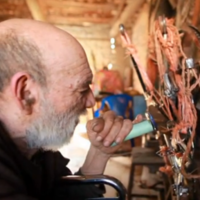 Man spends 50 years building helicopter from rubbish