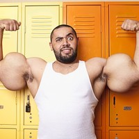 Meet the man with the world's biggest 'guns'