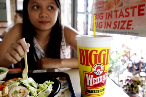 This 24-ounce drink at a fast-food restaurant in the Philippines is now banned in NYC.