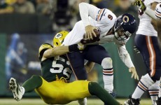 Sacked in the evening: Cutler nightmare as Chicago crumble