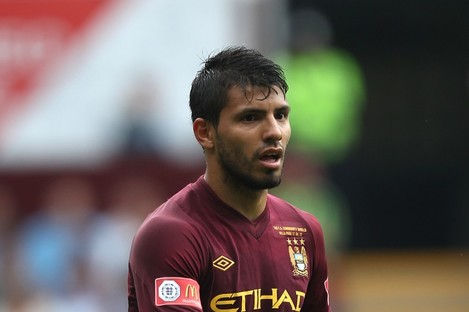 Manchester City's Sergio Aguero could still return this weekend against Stoke.