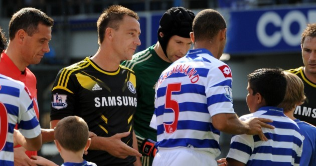 Snapshot: this is the moment Anton Ferdinand snubbed John Terry