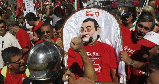 PICTURES: tens of thousands march against Spanish austerity
