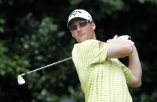 Mulroy takes lead in tight race for Italian Open title