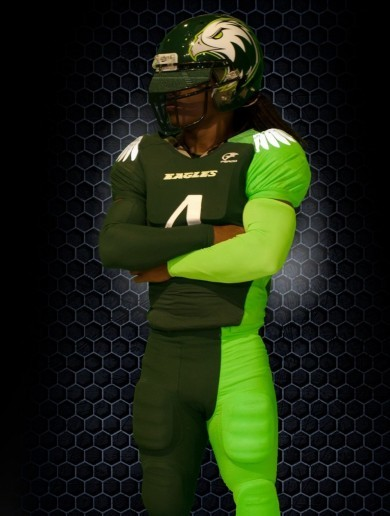 Is this the craziest American football kit you've ever seen?