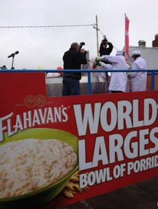 Waterford sets new world record… for porridge