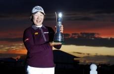 Golf: Shin Jiyai wins Women's Open by nine shots in Liverpool