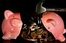 German thieves make off with piggy bank and two chocolate bars