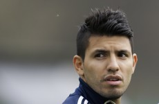 Champions League: Sergio Aguero has 'a chance' for Real clash