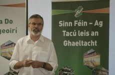 Gerry Adams: 'Masquerading' paramilitary groups 'should go away'