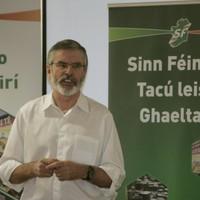 Gerry Adams: 'Masquerading' paramilitary groups 'should go away'