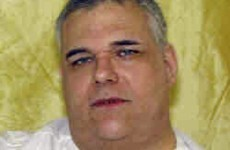 Man who weighs over 34 stone says he's too obese to be executed