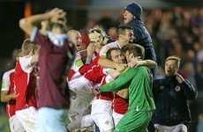 FAI Cup: Pat's penalty drama sets up date with Dundalk