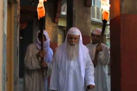 A screengrab from the controversial 'Innocence of Muslims' film which has caused protests throughout the Arab world.