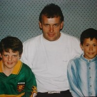 Snapshot: Talisman Michael Murphy with the last Donegal skipper to lift Sam... in 1992