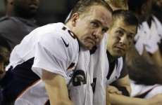 The most ominous sign yet that Peyton Manning is a shell of his former self...