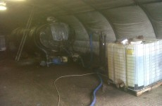 Customs officers uncover oil laundering plant in Monaghan