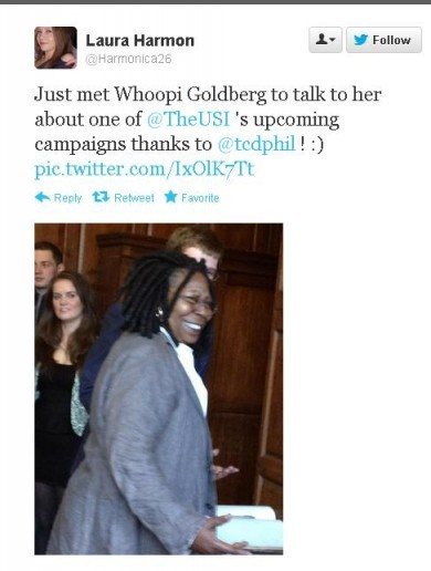 Welcome to Dublin, Whoopi Goldberg