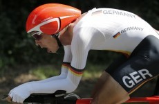 Cycling: Germany's Martin defends his world time-trial title