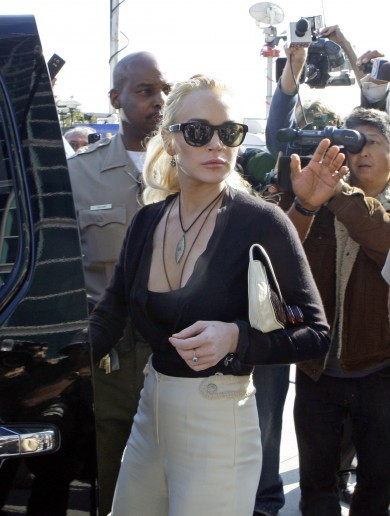 In photos: Lindsay Lohan arrested again... a troubled timeline