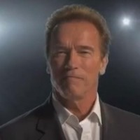 Arnie's autobiography is so important, it's got its own trailer